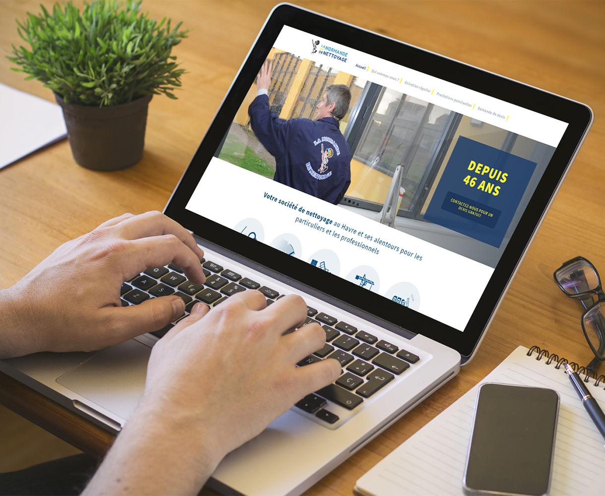 Stratégie digitale - Entreprise de nettoyage