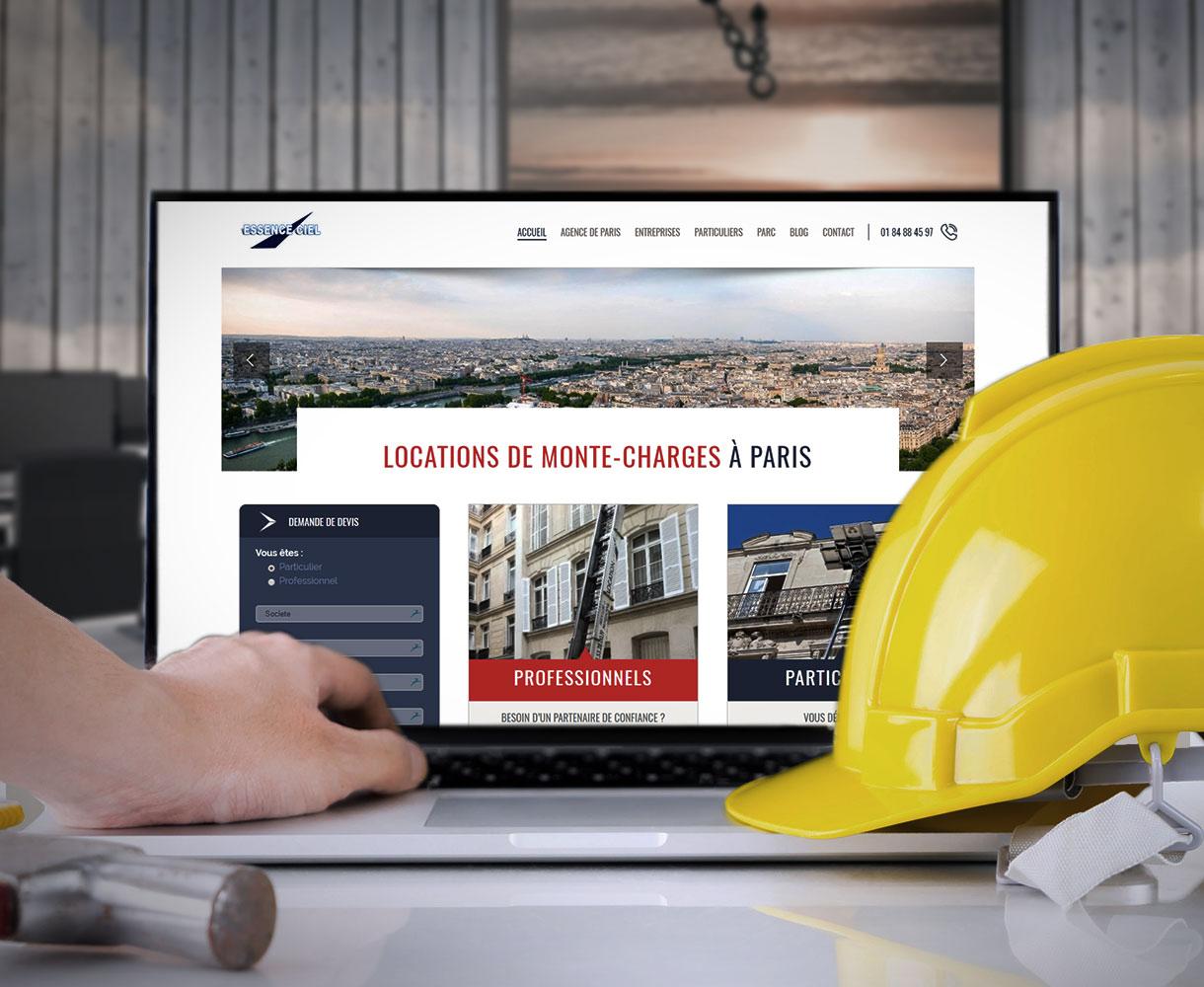 Stratégie Digitale - Entreprise de location