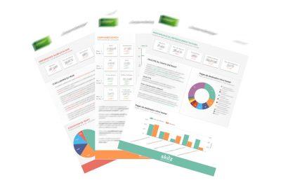 Skilz utilise Data Studio pour ses rapports client